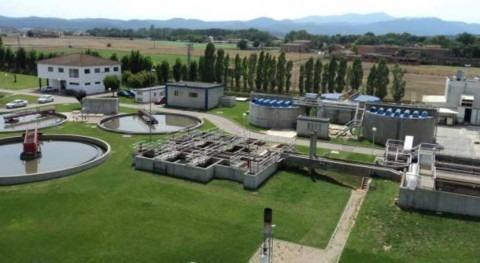 ACA da finalizado tratamiento reducción nitrógeno depuradora Banyoles