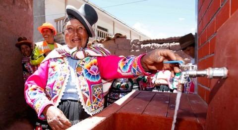 Más 4,2 millones peruanos accedieron al agua potable 2011 y 2015