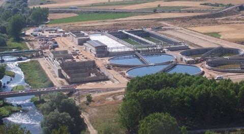 Acuaes licita nuevo acceso depuradora Burgos
