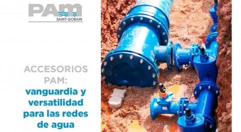 Accesorios PAM: vanguardia y versatilidad redes agua