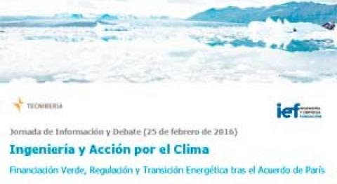 Jornada Información y Debate Ingeniería y Acción Clima