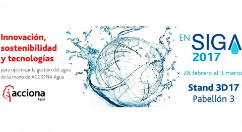 Innovación, sostenibilidad y tecnologías stand ACCIONA Agua