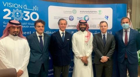 ACCIONA construirá y operará tres depuradoras Arabia Saudí 855 millones euros