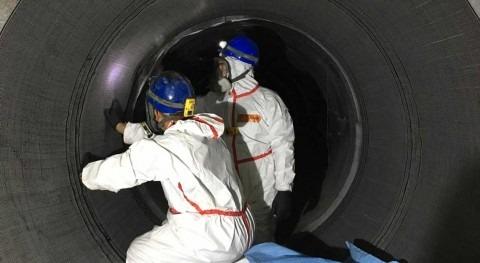 ACCIONA aplica nueva técnica reparar tuberías que minimiza cortes agua y tráfico