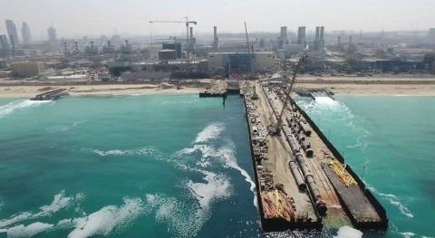 ACCIONA produce primer metro cúbico agua potable desaladora Jebel Ali, Dubái