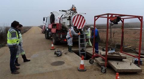 ACCIONA lleva cabo limpieza y desinfección depósitos municipales agua Toro