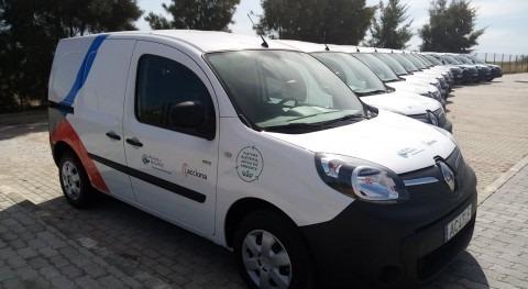 ACCIONA incorpora 12 vehículos cero emisiones gestión saneamiento Algarve