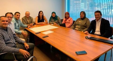 delegación procedente CAPW, Egipto, visita red saneamiento ciudad Valencia