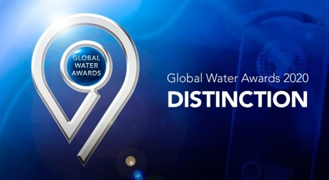 ACCIONA, galardonada premios Global Water Intelligence 2020