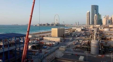 desalinizadora ósmosis inversa Jebel Ali ACCIONA ya suministra agua red Dubái