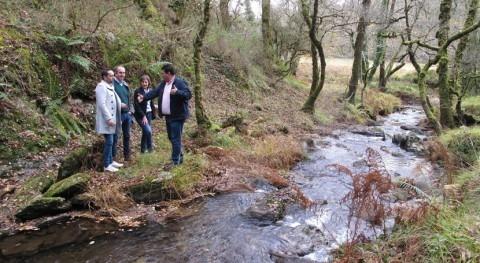 Galicia acondiciona tramo ruta Pontes río Lérez paso Forcarei