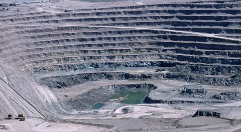 Actividad minera a cielo abierto