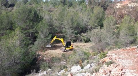 Gobierno valenciano inicia reparación daños hidráulicos Callosa d' Sarrià