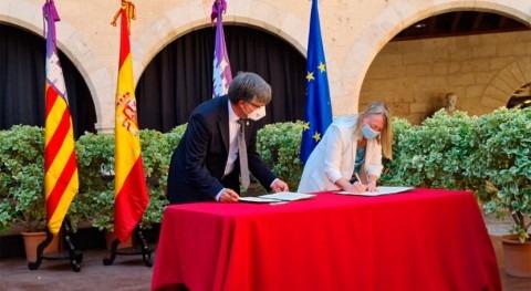 ACUAES y EMAYA firman convenio invertir 142 millones euros EDAR Palma II