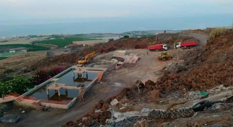 Iniciadas obras depuración y reutilización aguas Oeste Tenerife 27 millones