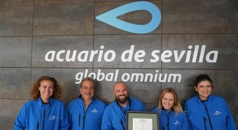 Acuario Sevilla certifica Huella Carbono gracias Global Omnium