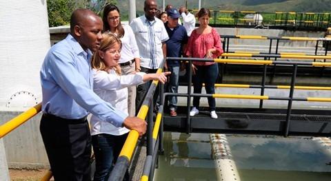 Avanza buen ritmo construcción acueducto regional norte Cauca Colombia