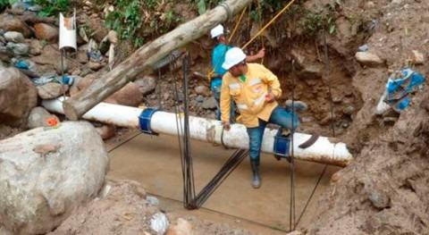 Avanzan obras acueducto Mocoa que abastecerá 50.000 habitantes