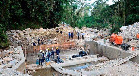 Colombia avanza reconstrucción acueducto Mocoa