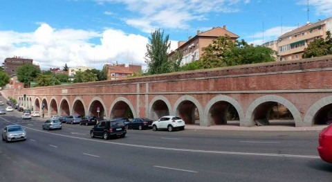 Ayuntamiento Madrid recupera tramo histórico Viaje Agua Amaniel