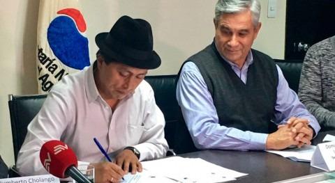 Ecuador firma reforma nuevo Pliego Sostenibilidad Agua