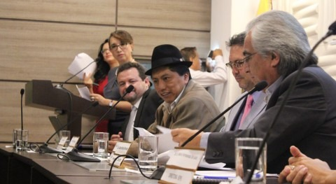 Secretaría Agua Ecuador firma convenio marco enfocado riego y drenaje