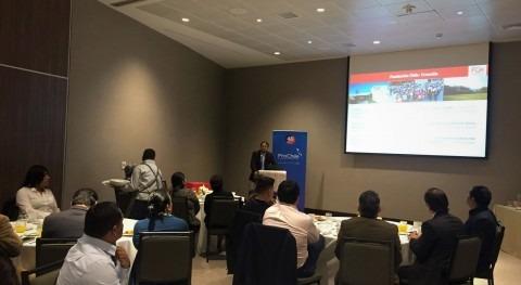 Fundación Chile presentó Perú servicios acuicultura