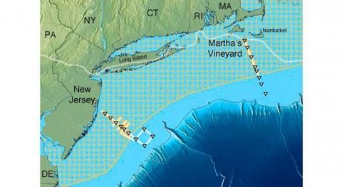 Descubierto enorme acuífero mar costa este Estados Unidos