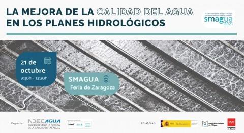 mejora calidad aguas planes hidrológicos, examen SMAGUA21