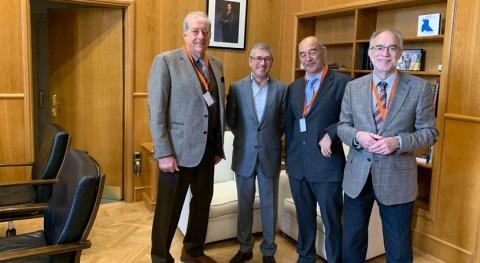 Junta Directiva Adecagua se reúne Secretario Estado Medio Ambiente, Hugo Morán