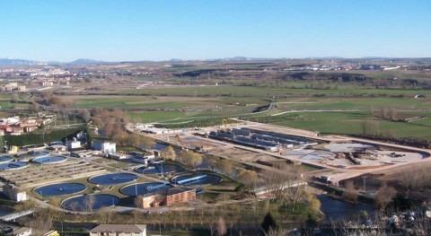 Se adjudican obras mejora conexión línea fangos EDAR Burgos