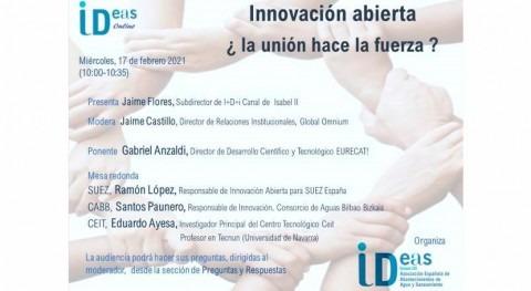 """AEAS celebrará sesión online """"Innovación abierta, ¿ unión hace fuerza?"""" 17 febrero"""