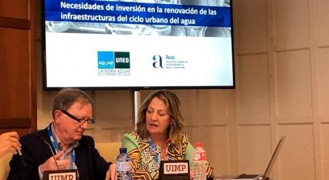 """F. Morcillo: """" sector agua urbana tiene mayor problema déficit inversión"""""""