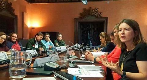 Catarina Albuquerque se reúne actores Cooperación Española agua