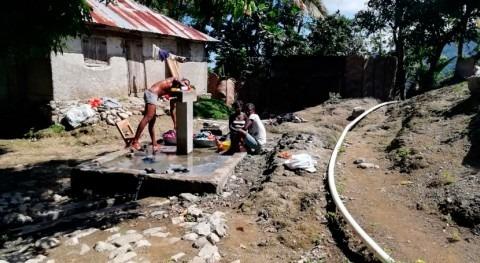 AECID promueve campaña acabar defecación al aire libre Haití