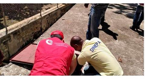 Cooperación abastecimiento agua Haití