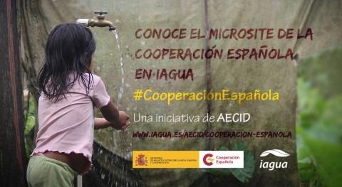 Conoce Microsite Cooperación Española esfera agua