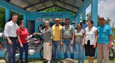 Medio millón personas acceden agua y saneamiento República Dominicana