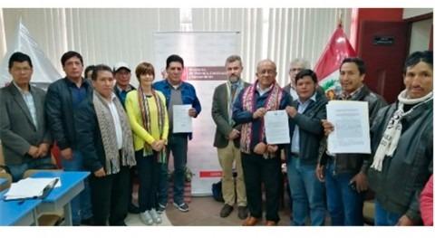 8 millones euros proyectos agua potable y saneamiento sierra peruana