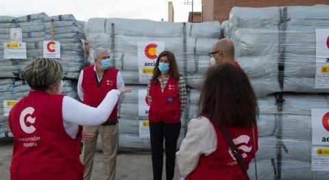 España envía Sudán más 12 toneladas material paliar daños inundaciones