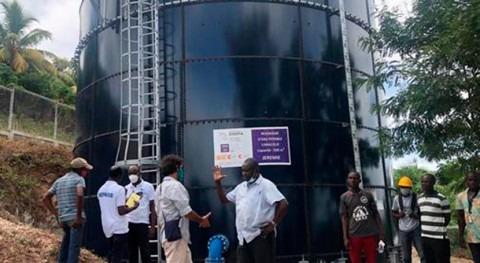 Haití inicia trabajos rehabilitación y extensión red agua Jérémie