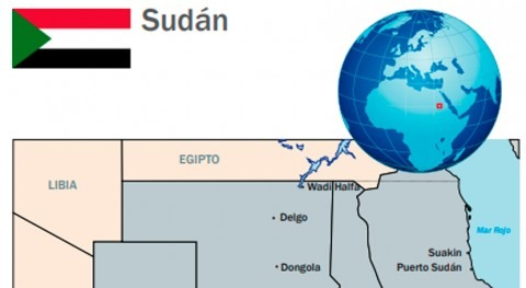 Acción humanitaria española Sudán