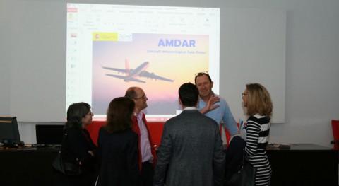 Aviones AMDAR: apuesta AEMET recogida datos meteorológicos tiempo real