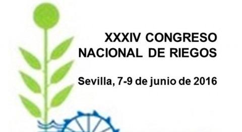 XXXIV Congreso Nacional Riegos, Sevilla 7 9 junio 2016