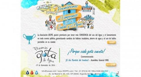 Primera edición Concurso Gota Agua-Asociación AESPE