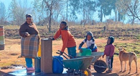 escasez agua, eje principal mayores crisis humanitarias África