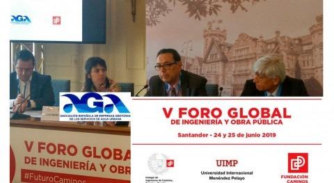 AGA participa Mesa Cambio Climático Foro Ingeniería Santander