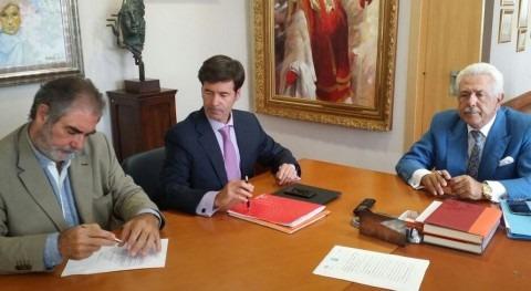 Firma del acto de constitución de Aywa Servicios Ambientales.