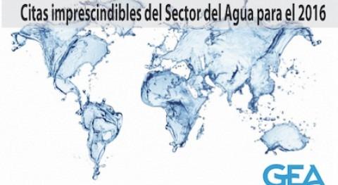 10 citas ineludibles Sector Agua 2016