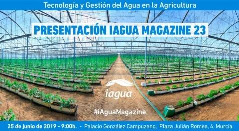 Presentación de iAgua Magazine 23: Tecnología y Gestión del Agua en la Agricultura